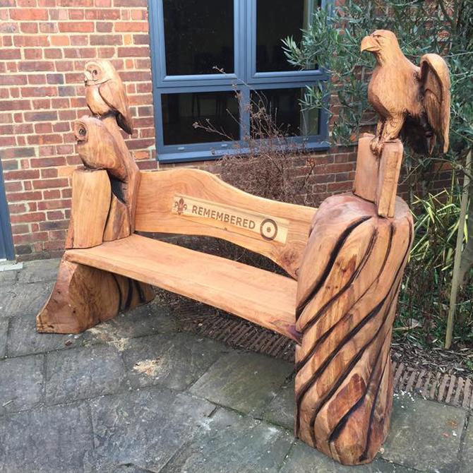 Portfolio chainsaw carvings